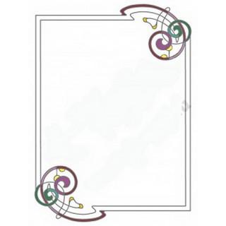 Витраж для декора зеркала mr025