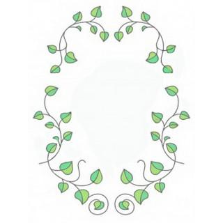 Витраж для декора зеркала mr042