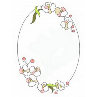 Витраж для декора зеркала mr048