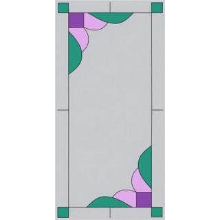 Витраж для кухонных фасадов kit13