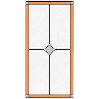 Витраж для кухонных фасадов kit53