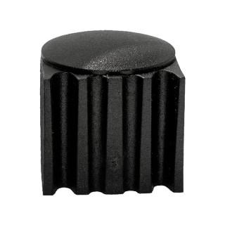Заглушка зовнішня з каблучком D 27 мм