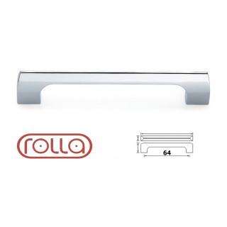 Ручка D 451/64 хром (Rolla)