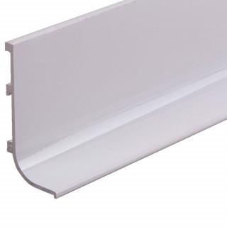 Профиль алюминиевый ФБР L-образный Белый 5950 мм М/П (Под заказ)