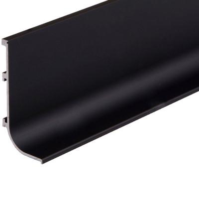 Профиль алюминиевый ФБР L-образный Черный 5950 мм М/П (Под заказ)