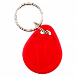 Брелок червоний RFID R-75