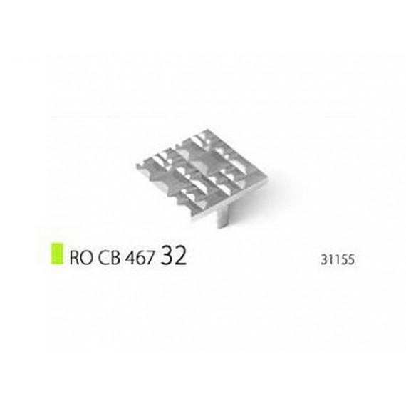 Ручка RO CB 467, хром (Rolla)