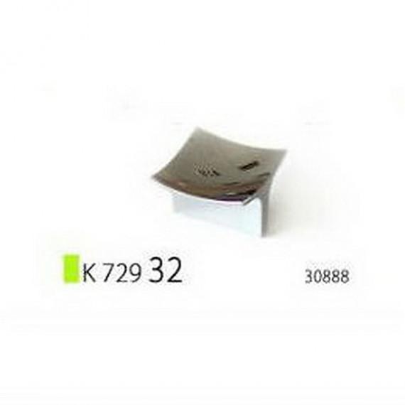 Ручка К 729 32, хром (Rolla)