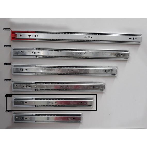 Направляющие телеск. с доводч. L-350мм H-45 Linken