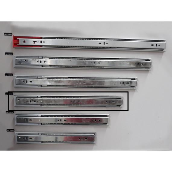 Направляющие телеск. с доводч. L-400мм H-45 Linken