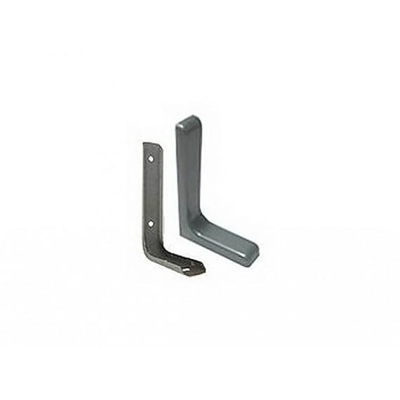 Уголок-консоль L120 серый