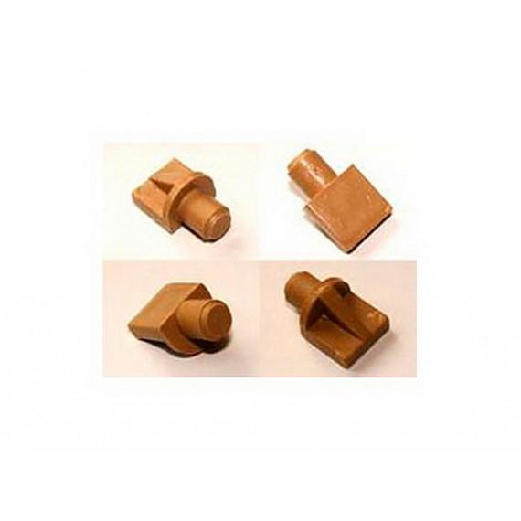 Полкодержатель-лопатка пластиковый, бук