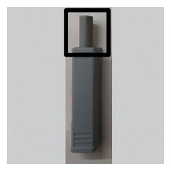 Тип-он держатель серый короткий 956.1201