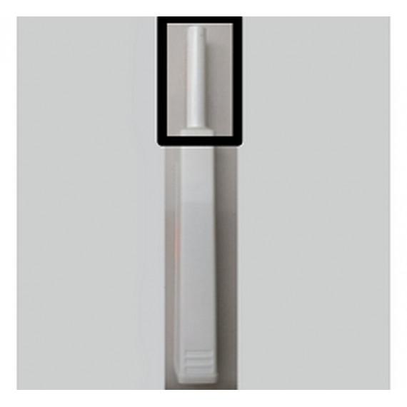 Тип-он регулируемый белый длинный для накладных фасадов 956A1002