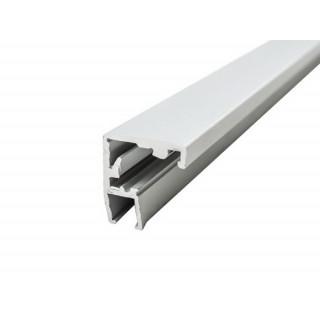 Профиль алюминиевый квадратный 2800 мм 1240201 ЦЕНА УКАЗАНА ЗА 1М/П ДО ПОЛНОЙ РАСПРОДАЖИ