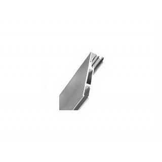 Профиль алюминиевый широкий 2800мм 1240202.24 ЦЕНА УКАЗАНА ЗА МЕТР/П! ДО ПОЛНОЙ РАСПРОДАЖИ