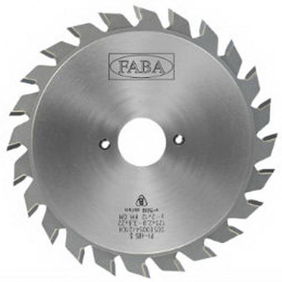 Пила подрезная FABA PL 405 S125x2.8/3.6/22 GM HV