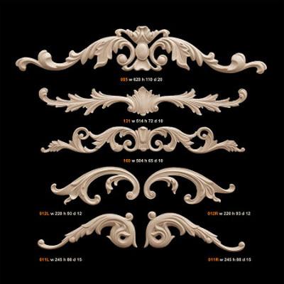 Каталоги декоративних елементів